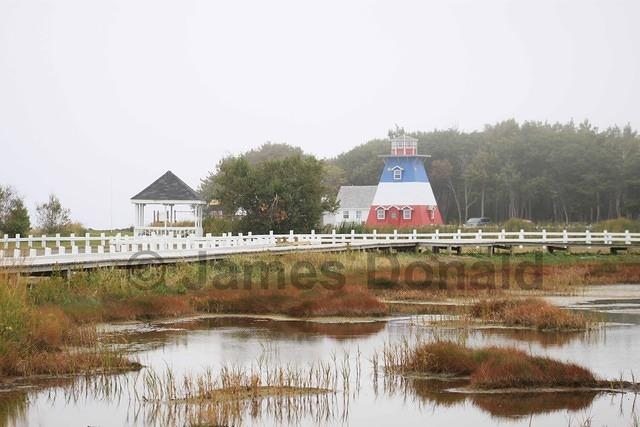 Marsh and Lighthouse