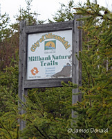 Millbank Nature Trails Sign
