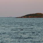 Tanker behind Manawagonish Island