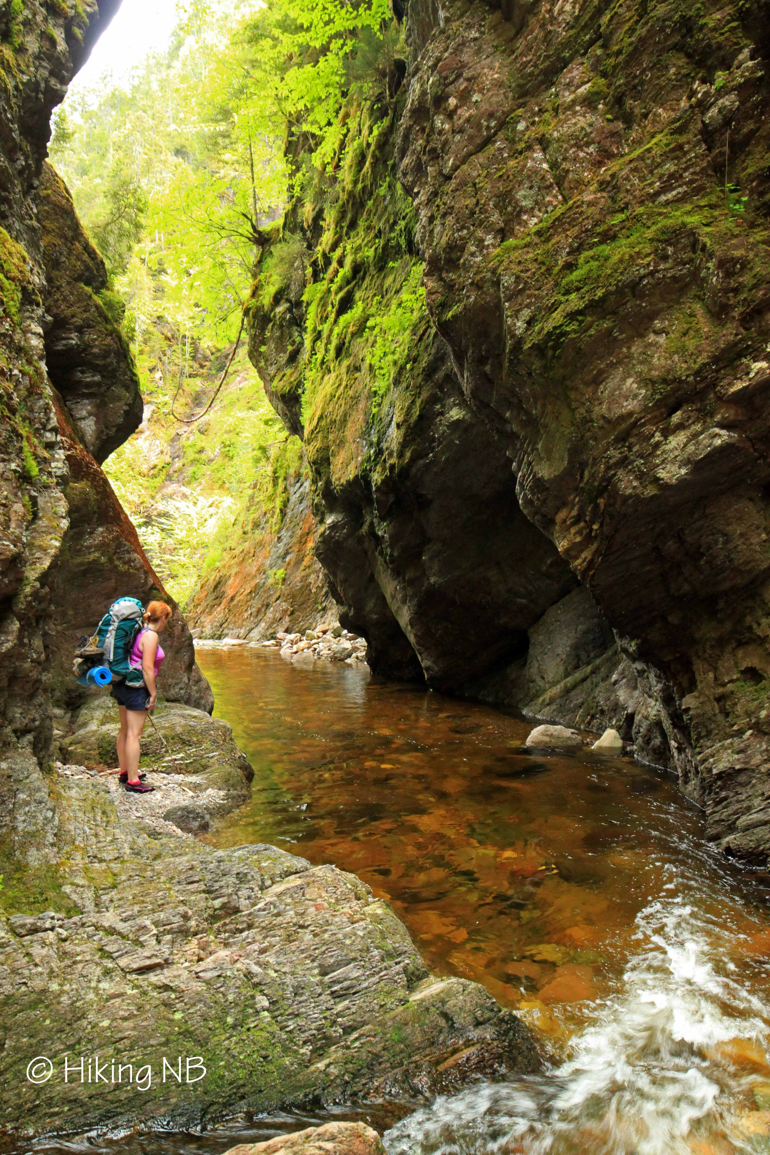 walton glen gorge   fundy footpath hiking nb