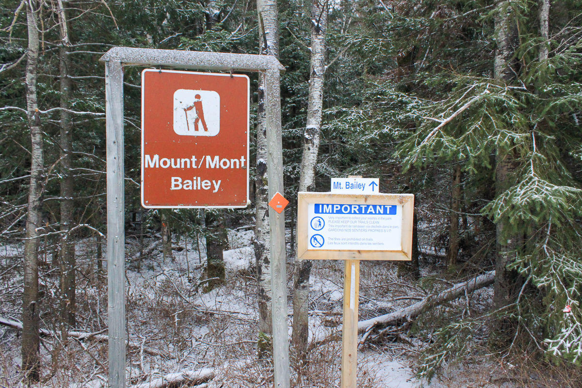 Mount Bailey Trailhead