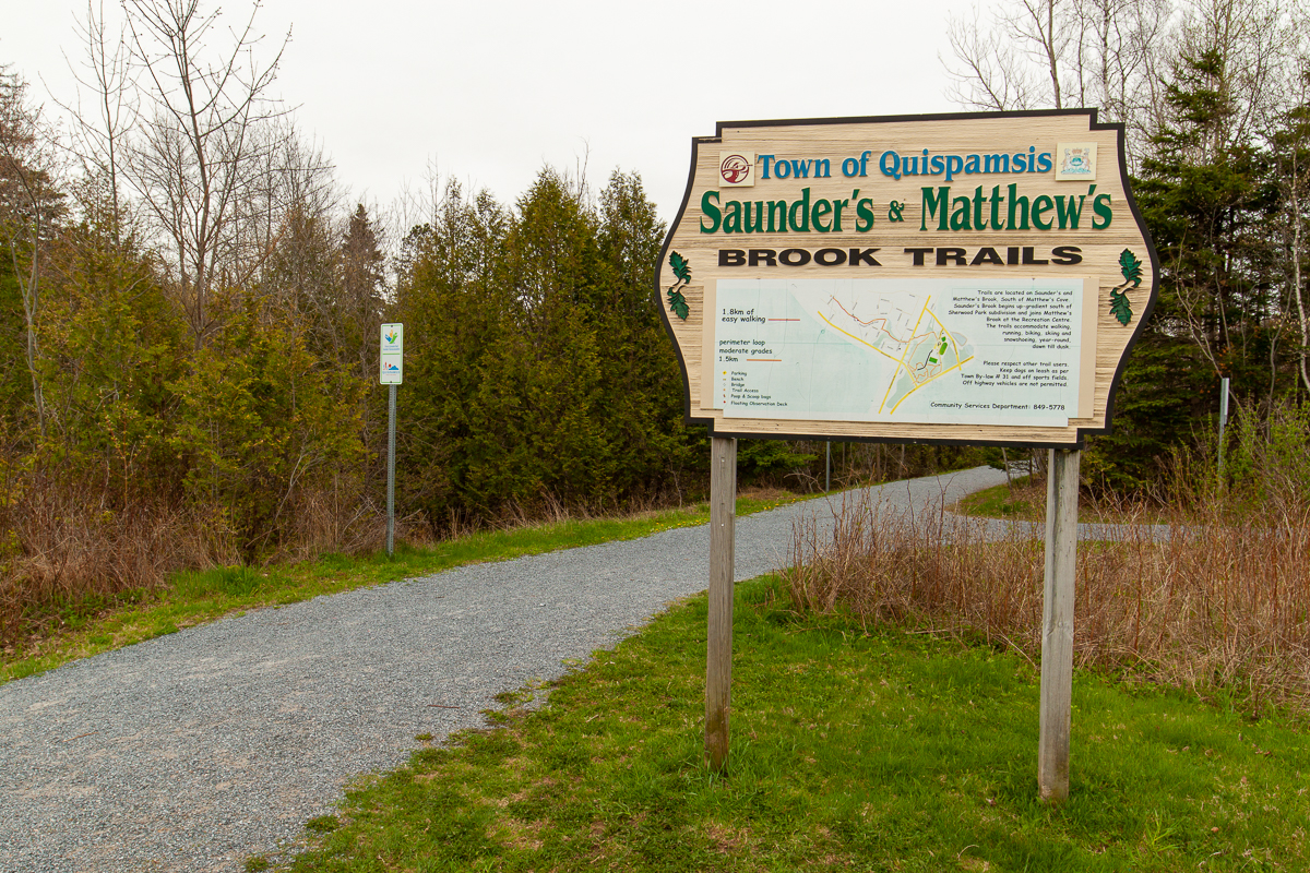 Matthews and Saunders Brook Trails