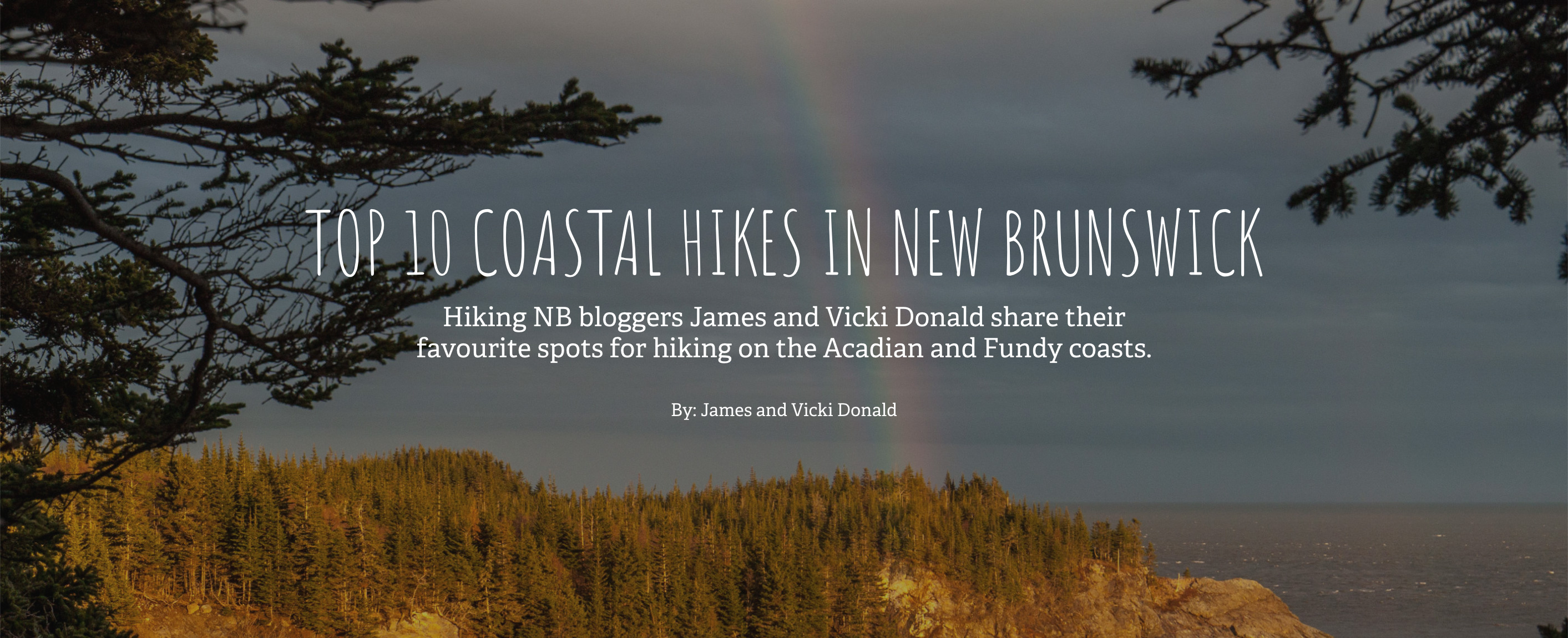 Top 10 Coastal Hikes Blog Post