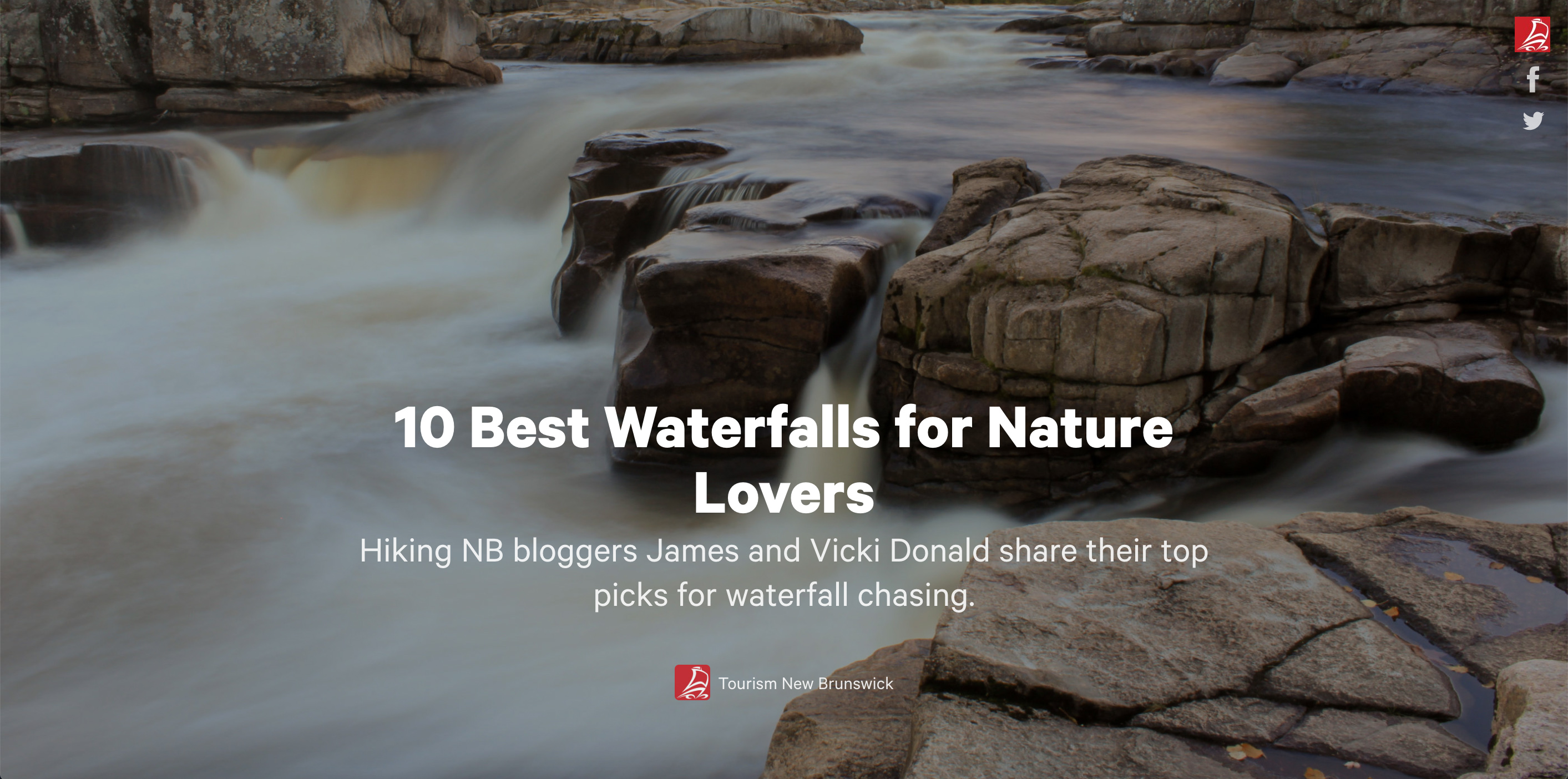Top 10 Waterfalls Blog Post
