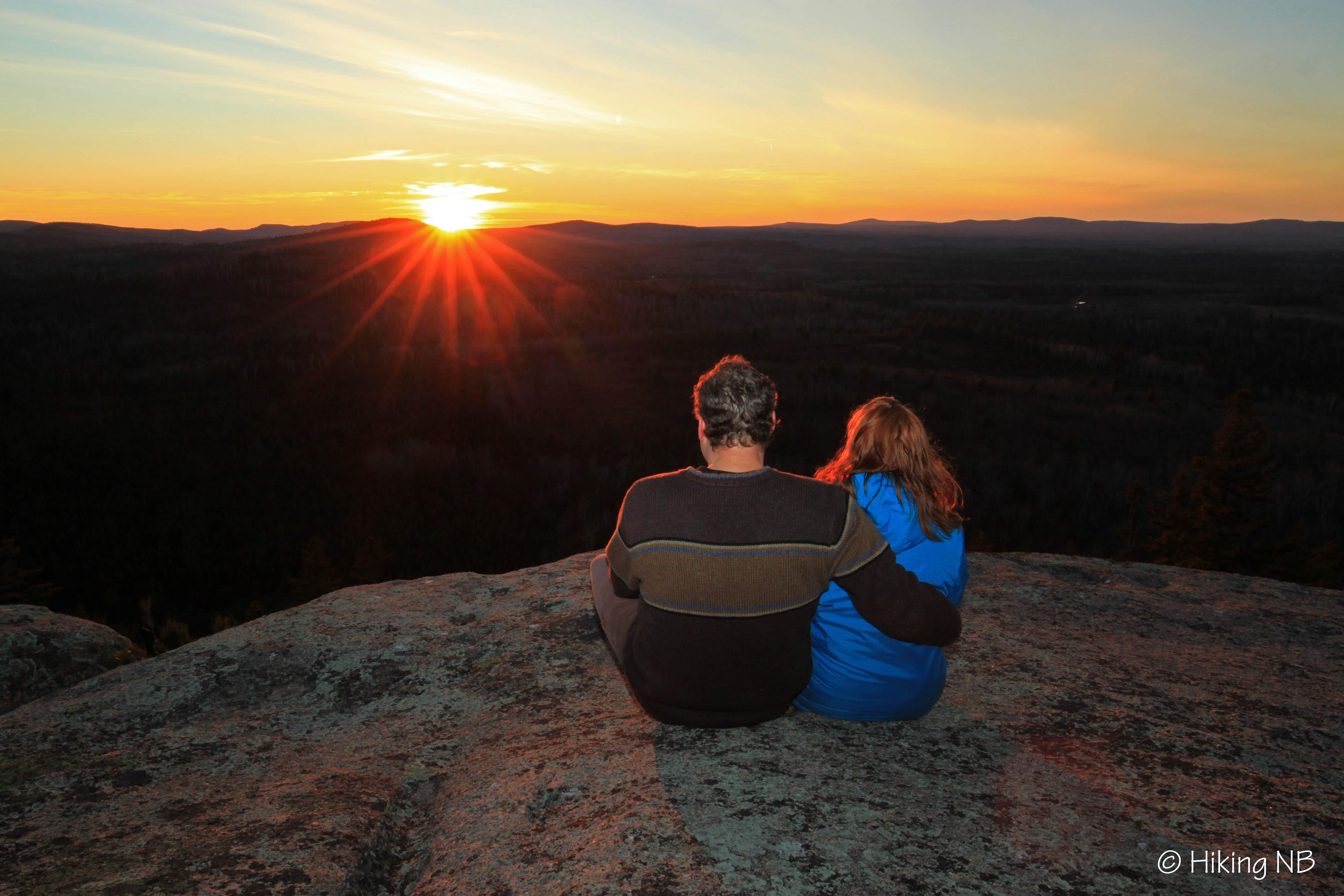 Bald Mountain Sunset